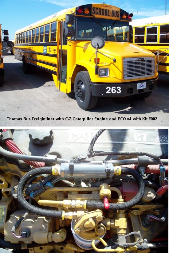 thomas school bus using eco systems
